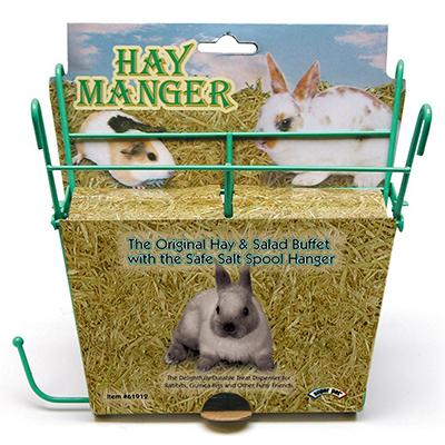 Wire Rabbit Hay Feeder