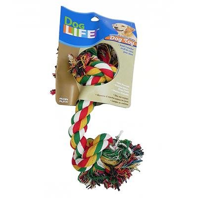 Rope Bone Super Color Dog Toy