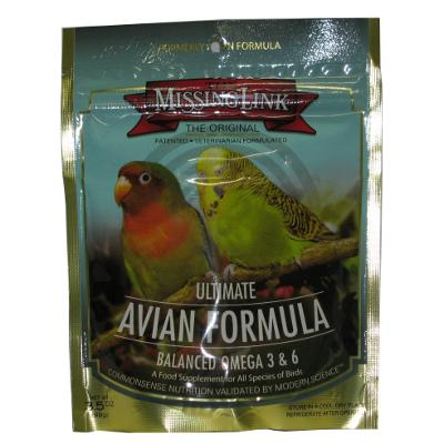 Missing Link Ultimate Avian Formula 3.5 ounce Click for larger image