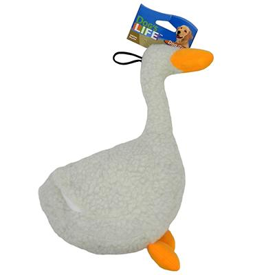 Soft Dog Toy Fleece Duck Click for larger image