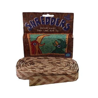 Shredders Woven Palm Leaf Bird Toy Click for larger image