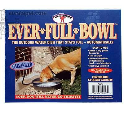Ever Full Bowl Automatic Dog Watering Pan 13 Quart Click for larger image