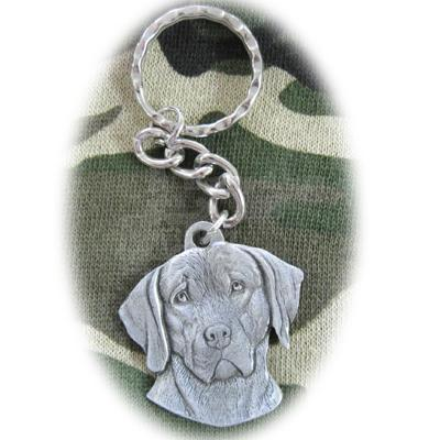 Pewter Key Chain I Love My Weimaraner Click for larger image