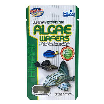 Hikari Tropical Algae Wafers Fish Food .70-oz.