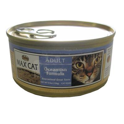 Nutro Max Cat Ocean Fish Adult Canned Cat Food each