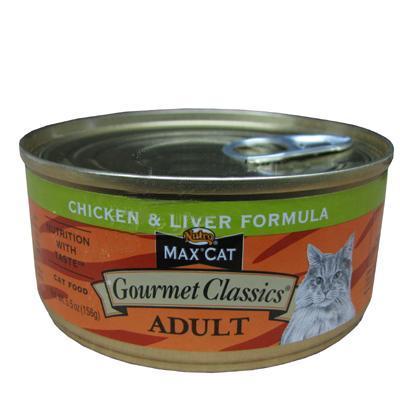 Nutro Max Cat Gourmet Classics Chicken/Liver Cans Ea