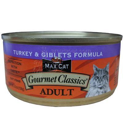 Nutro Max Cat Gourmet Classics Turkey/Giblets Cans Ea