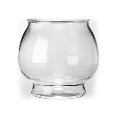 Anchor Hocking Glass Fish Bowl Footed 1 Gal