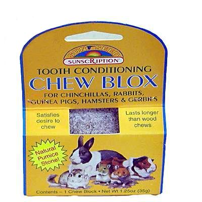 Tooth Conditioning Chew Blox for Small Animals Click for larger image