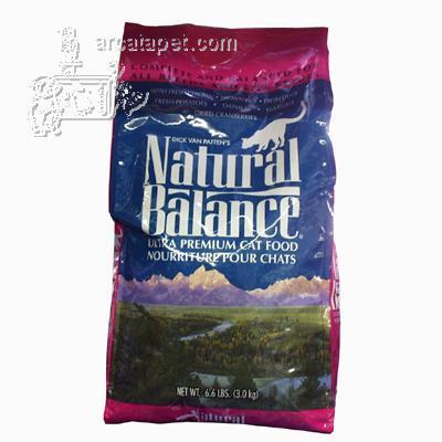 Natural Balance Ultra Cat Food 6 lb