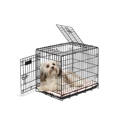 Wire Fold-Down Dog Crate 24x18x20