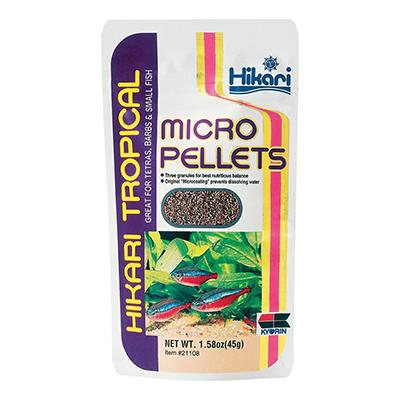 Hikari Tropical Micro Pellets Fish Food 45-gm Click for larger image