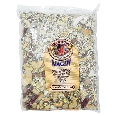 McBrides Macaw Bird Seed Mix 5 pound Click for larger image