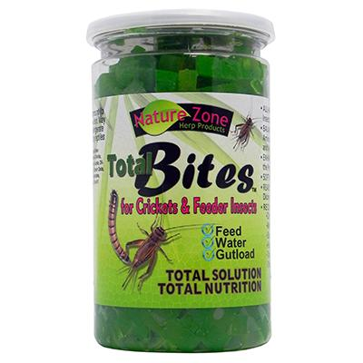Cricket Total Bites 9 ounce Insect Food Click for larger image