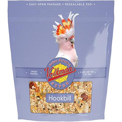 Avian Science Super Hookbill 4 pound Parrot Bird Seed Click for larger image