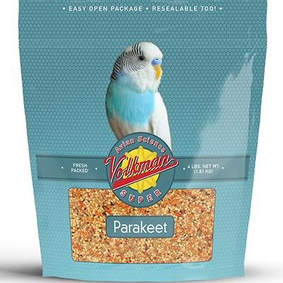 Avian Science Super Parakeet 4 pound Bird Seed Click for larger image