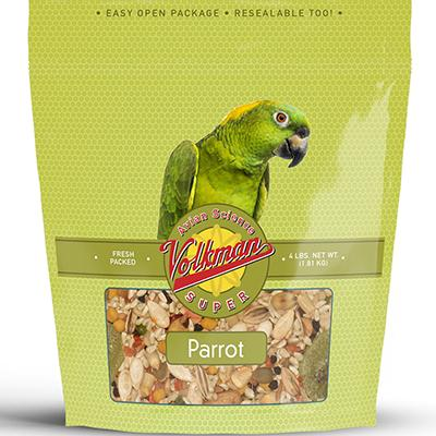 Volkman Avian Science Super Parrot Seed Mix 4 lb Click for larger image