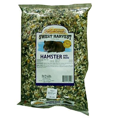 Sweet Harvest Hamster and More 2 pound Small Animal Food