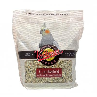 Avian Science Super Cockatiel W/Sun 4 pound Bird Seed