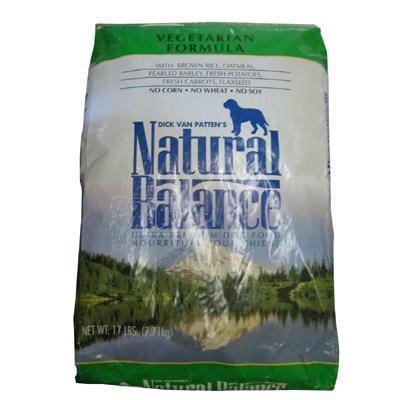 Natural Balance Vegetable Dog Food 17 lb