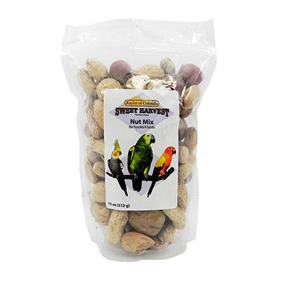 Sweet Harvest Parrot Nut Mix 11 ounce