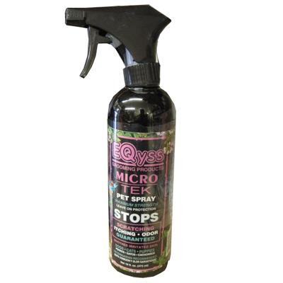 EQyss Micro-Tek Pet Spray 16-oz. Click for larger image