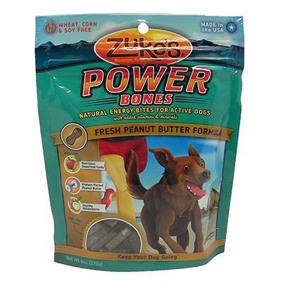 Zuke's Powerbone Peanut Butter 5 ounce Dog Treat