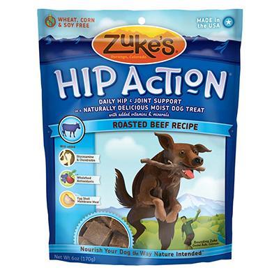 Zuke's Hip Action 6 ounce Dog Treat