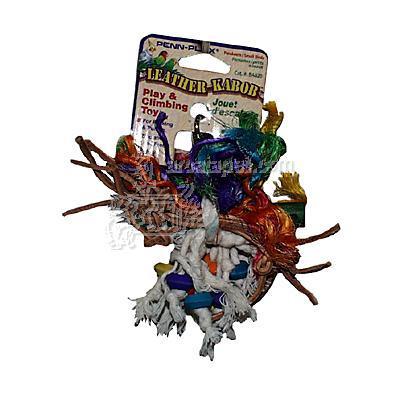 Leather Kabob XSmall Bird Toy