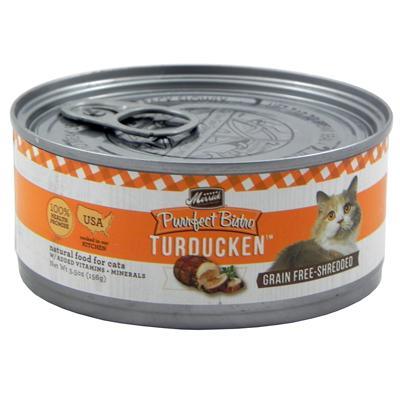 Merrick Turducken Canned Cat Food 5.5 oz Case Click for larger image