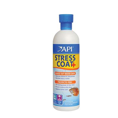 Stress Coat 16 ounce Aquarium Water Conditioner Click for larger image