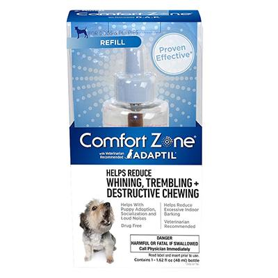 Comfort Zone Dog Appeasing Pheremone Refill