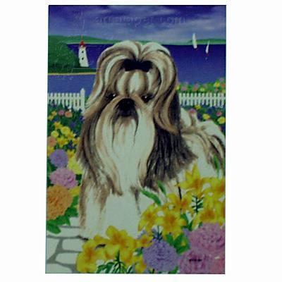 GR8 Dogs Shih Tzu House Flag