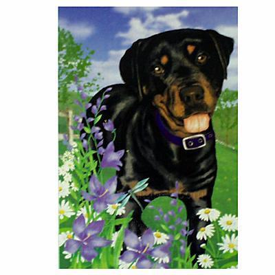 GR8 Dogs Rottweiler Garden Flag