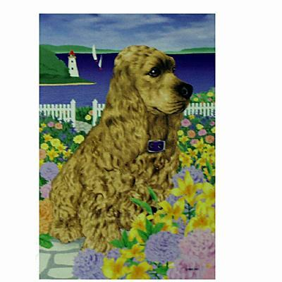 GR8 Dogs Cocker Spaniel Garden Flag Click for larger image