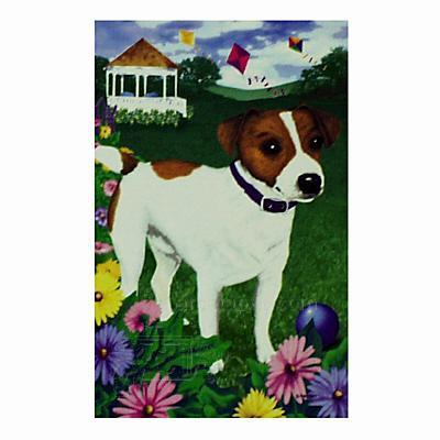 GR8 Dogs Jack Russell Terrier Garden Flag