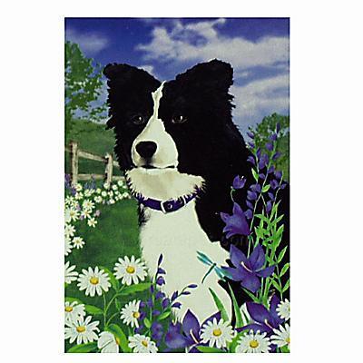 GR8 Dogs Border Collie Garden Flag