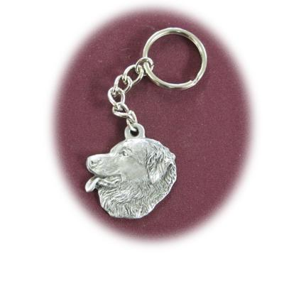 Pewter Key Chain Leonberger