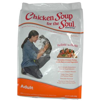 Chicken Soup for the Cat Lovers Soul 15 pound