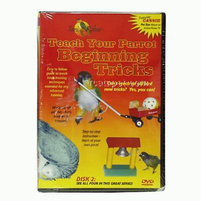 DVD #2 Beginning Parrot Tricks