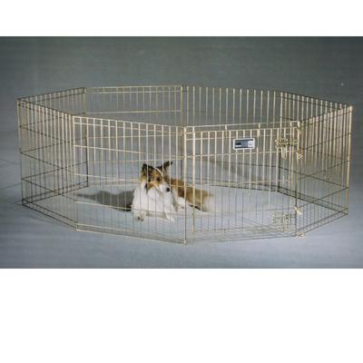Puppy Folding Exercise Pen 24 inch Click for larger image