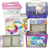 Small Animal Habitats Cages and Parts