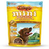 Zuke's Mini-Naturals Peanut Butter 6 ounce Dog Treat