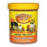 Omega One Large Sinking Goldfish Pellets Fish Food 3.8-oz