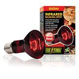 Exo Terra Heat Glo Infrared Terrarium Bulb 50 Watt