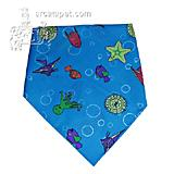 Dog Bandana Cartoon Sea Creatures