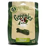 Greenies Teenie Size Dog Dental Treat 43 Pack