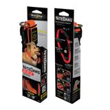 Nite Ize Night-Dawg Lighted LED Dog Collar Orange Medium