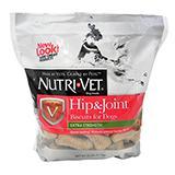 Nutri-Vet Glucosamine Wafers Peanut Butter 6 lb bag