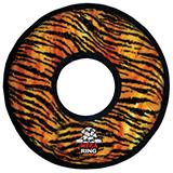 MEGA Tuffy's  Rumble Ring-Tiger Print Dog Toy